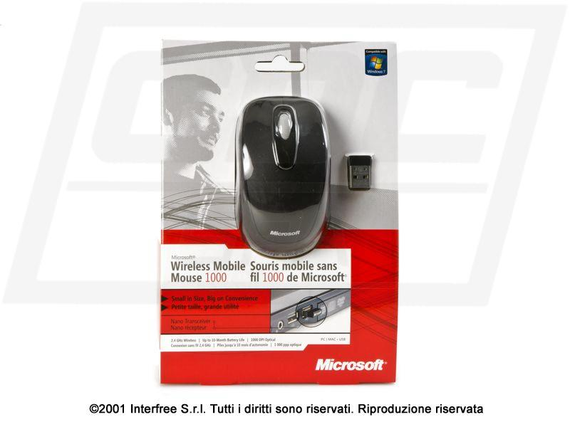1J.BZ    MICROSOFT WIRELESS MOBILE MOUSE 1000